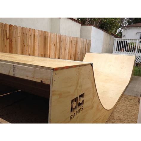 half pipe r 8 foot wide h skateboard