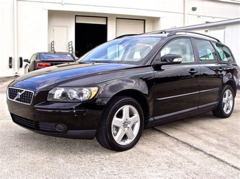 2007 volvo v50 t5 sell used 2007 volvo v50 t5 awd sport wagon turbo 2 5l