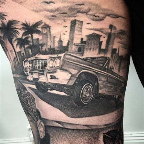 lowrider car tattoo best tattoo ideas gallery