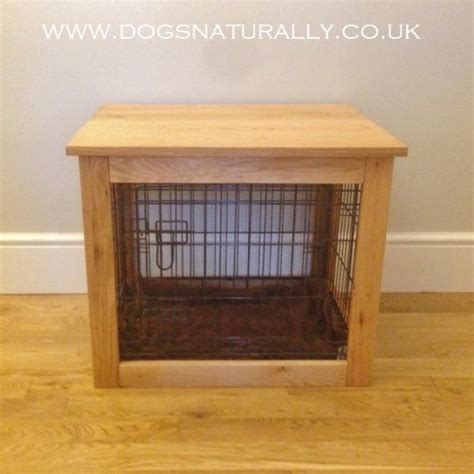 table to go crate oak crate large dogs naturally