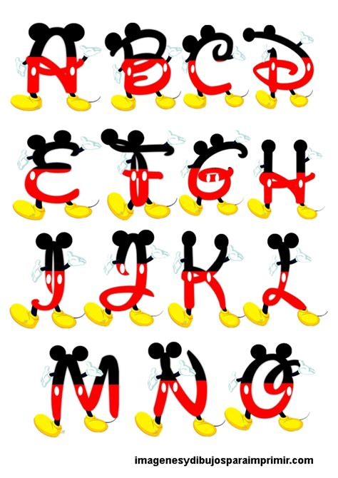 imagenes y videos mas vistos abecedarios de mickey mouse 1a 241 o pinterest mickey