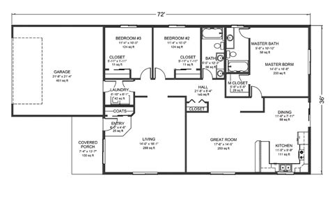 rambler house floor plans rambler style house plans numberedtype