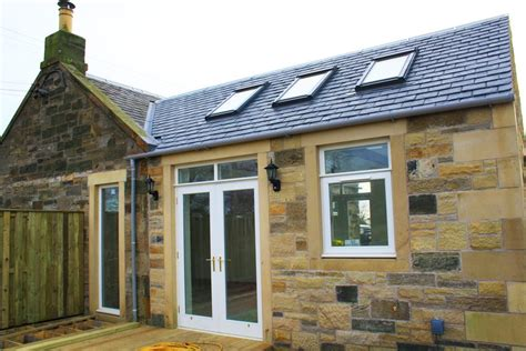 cottage kitchen extensions cottage extension crail fife architects