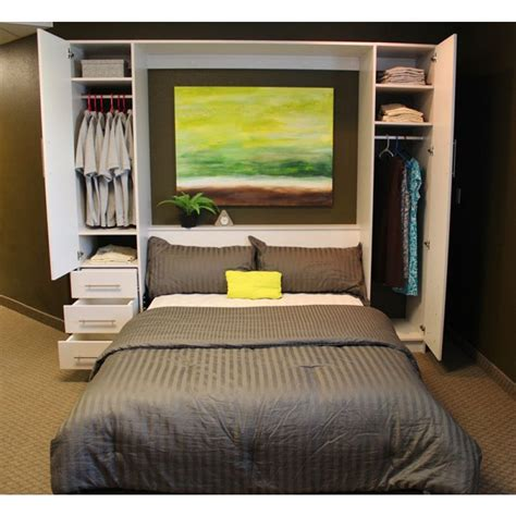 breda beds penthouse murphy bed with hutches stylish murphy bed