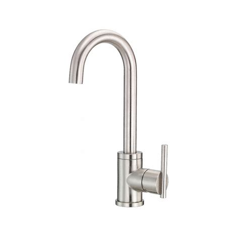 shop danze parma stainless steel 1 handle bar faucet at