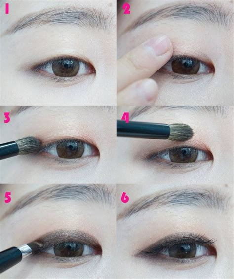 eyeliner tutorial monolid monolid eye makeup tutorial mugeek vidalondon