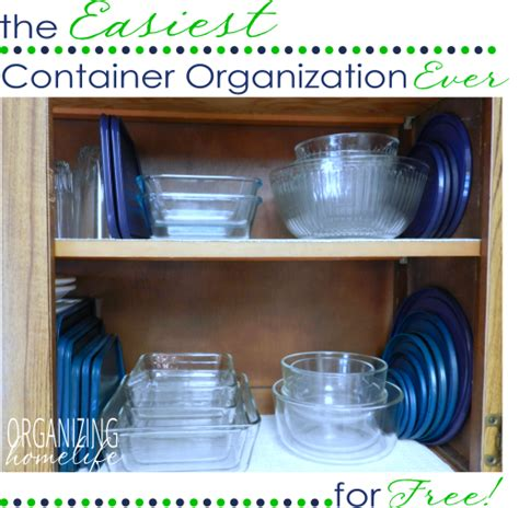 organise or organize the easiest way to organize food storage containers