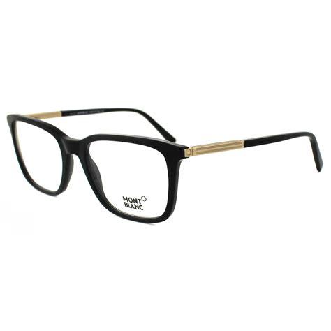 mont blanc glasses frames mb0544 001 black ebay