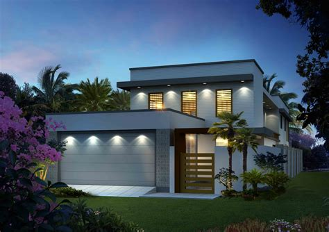 concept home long narrow home designs block home designs narrow