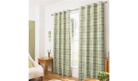 green checked curtains george home green woven check curtains curtains george