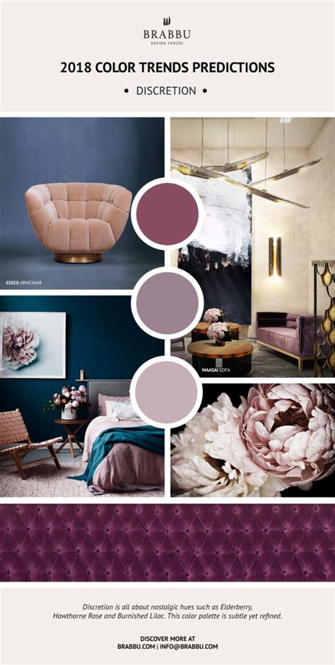 early interior design color trends and predictions for 2017 2018 color trends predictions the design trend guide you