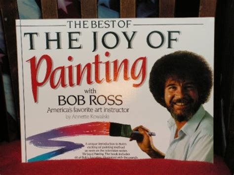bob ross painting books bob ross quot the best of the of painting quot book c pics