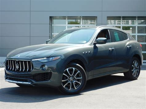 Pre Owned Maserati by Pre Owned 2017 Maserati Levante Sport Utility 1xu4218