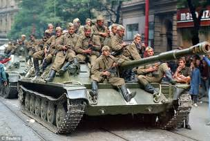 Soviet invasion generals detected which roads could carry their tanks