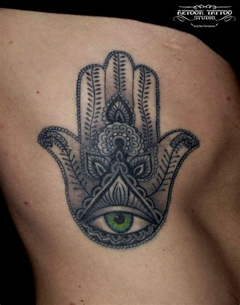 tattoo hand of fatima aztoon tattoo studio hamsa tattoo hand of fatima
