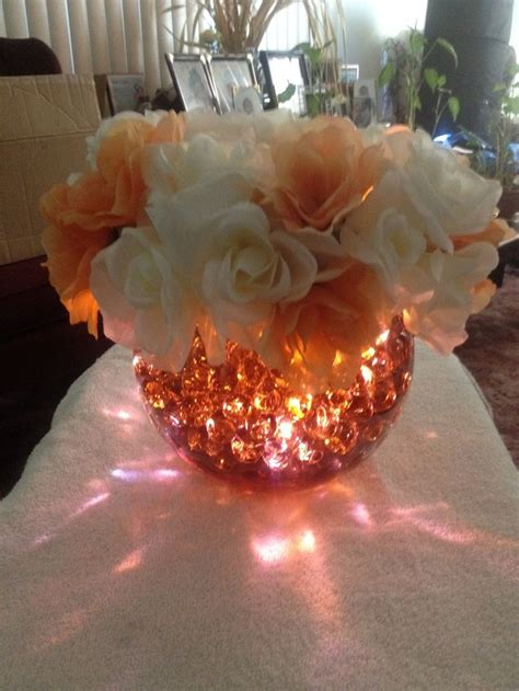 led lights for centerpieces 9 best led and light up centerpieces images on