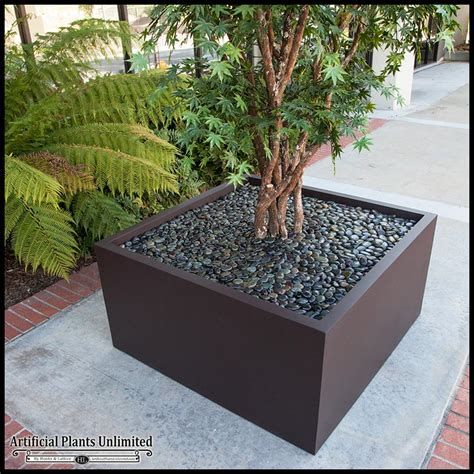 Planter Trees by 10 Artificial Japanese Maple Tree In Modern Fiberglass