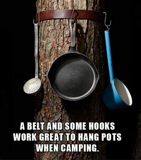 Thing To Hang Pots And Pans On 25 Clever Diy Cing Ideas Tutorials Noted List
