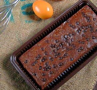 Brownies Chocochips resep dan cara membuat brownies tabur choco chip