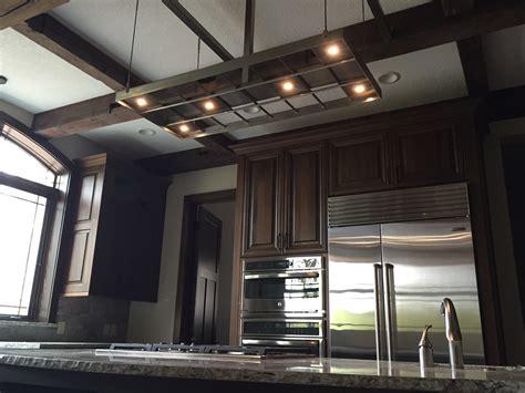 hanging pot rack with lights blog factor fabrication