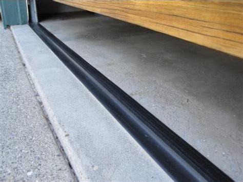 Garage Door Threshold Installation by 25 Best Ideas About Garage Door Weather Stripping On