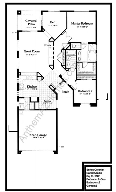 Anthem Country Club Floor Plans Floor Plans Arizona