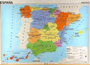 map of spain and regions spain and its political regions kartographia