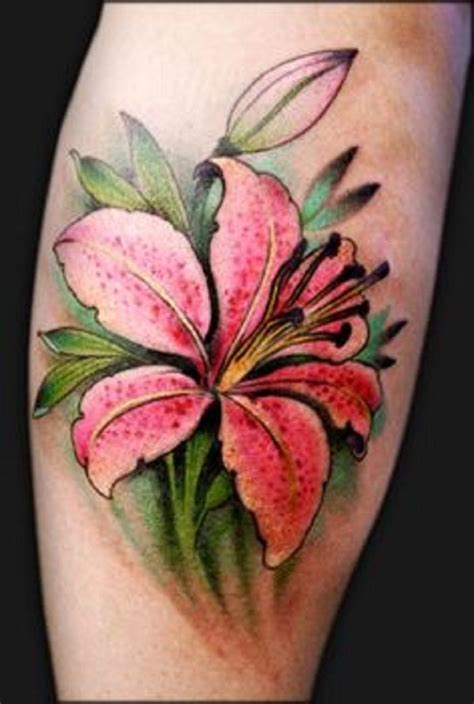stargazer lily tattoo 60 beautiful ideas tatting and