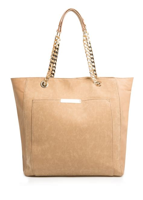 Mango Touch Original Handbag Shopper Bag lyst mango touch metal details shopper bag in