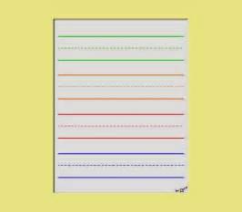 Images gallery of preschool handwriting paper