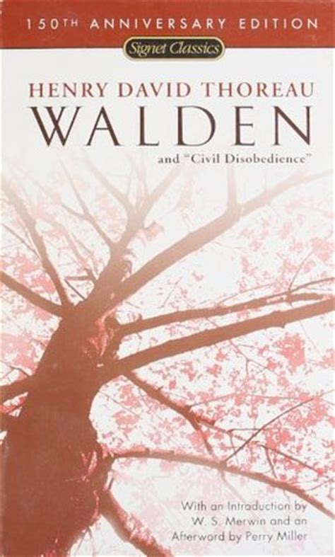 walden book read walden civil disobedience by henry david thoreau