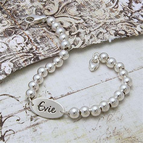 Personalised Handmade Jewellery - personalised i d bracelet indivijewels