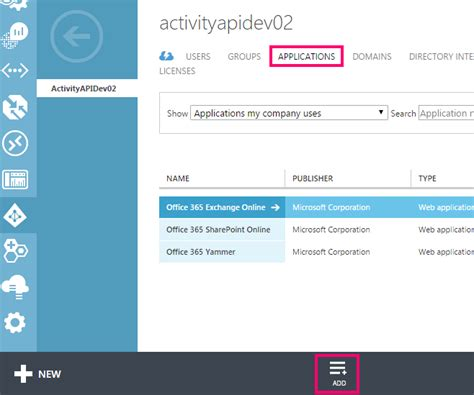Office 365 Tenant Id Get Started With Office 365 Management Apis Msdn