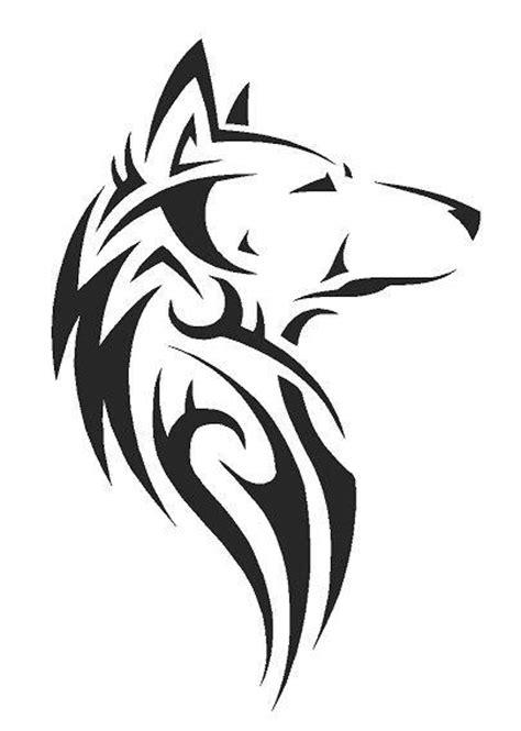 wolf stencil template tribal wolf airbrush wall paint stencil genuine