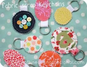 scrap your stash guest post fabric scrap key chain tutorial