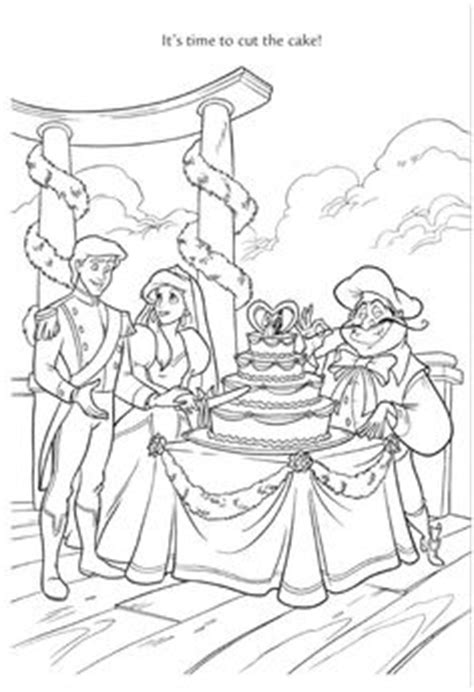 little mermaid wedding coloring pages mariage and illustrations on pinterest