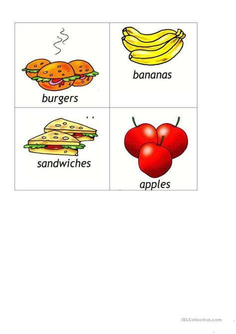 food dictionary food picture dictionary worksheet free esl printable worksheets made by teachers