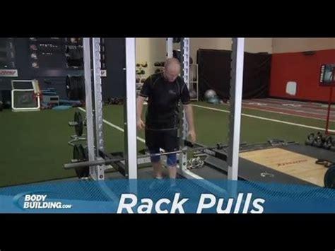 Rack Pulls Bodybuilding by Rack Pulls Back Exercise Bodybuilding
