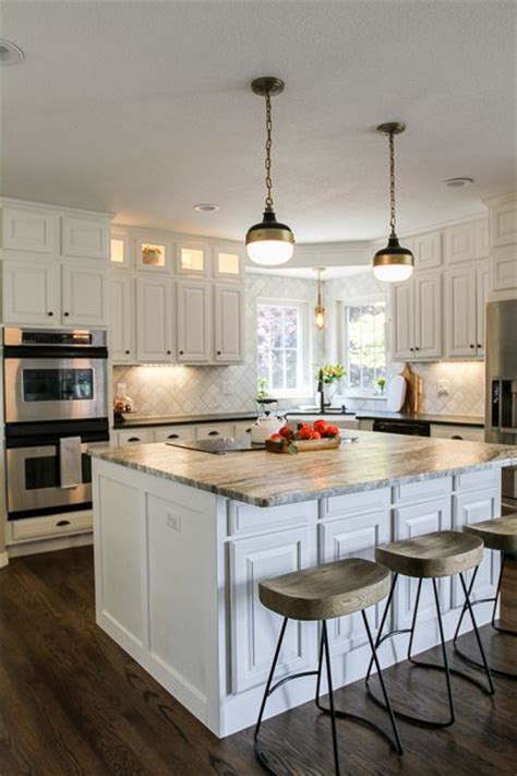 modern farmhouse kitchen modern farmhouse grey and cabinets on pinterest