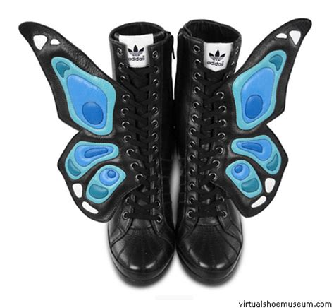 butterfly boots butterfly boot virtualshoemuseum