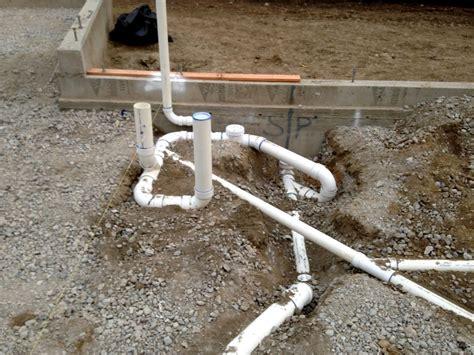 details of home floor plumbing