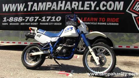 Suzuki Enduro Motorcycles For Sale Used 2000 Suzuki Dr650sey On Road Enduro Motorcycle
