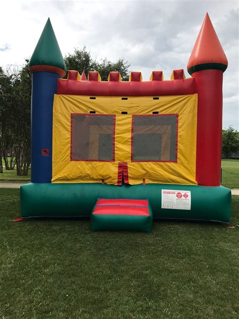 bounce house rental dallas castle bounce house rental dallas tx jumper bee entertainment