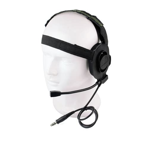 Headset Army new z tactical hd 01 bowman elite ii headset headphone style green ebay