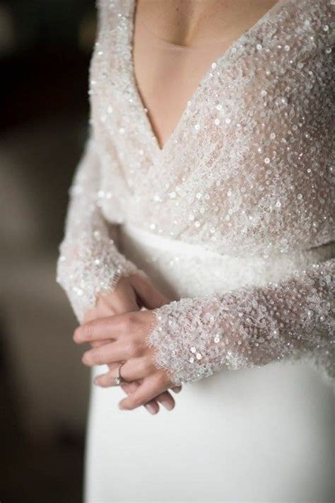 beading on the wedding dress to the right reminds me of indian 33 wedding dress details to swoon over happywedd com