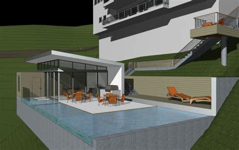 modern hill house designs modern pool pool house hollywood hills modern