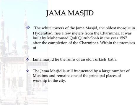charminar biography in hindi hyderabad ppt