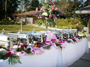 Backyard Wedding Buffet Ideas Ideas For Buffet Wedding All For Your Wedding