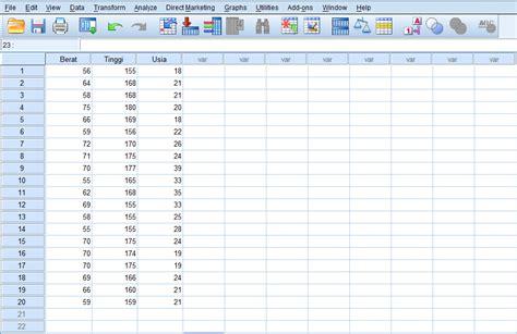 tutorial spss analisis deskriptif analisis deskriptif