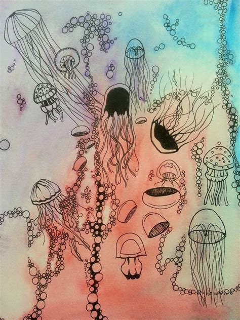 jelly doodle jellyfish doodle by firefly studio on deviantart